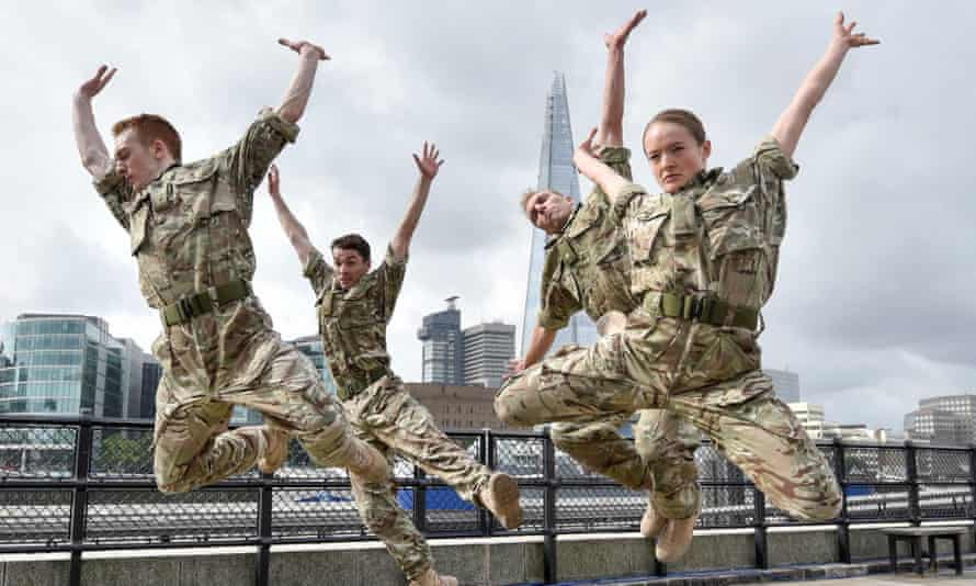 Rosie Kay Dance Company's 5 Soldiers.