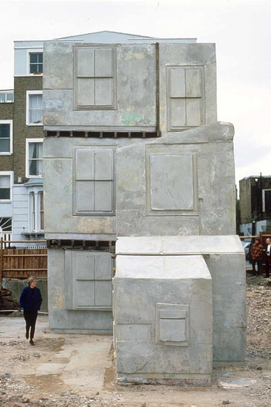 Whiteread's House (1993), in Bow, east London.