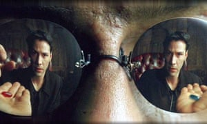 Image result for matrix morpheus red pill blue pill