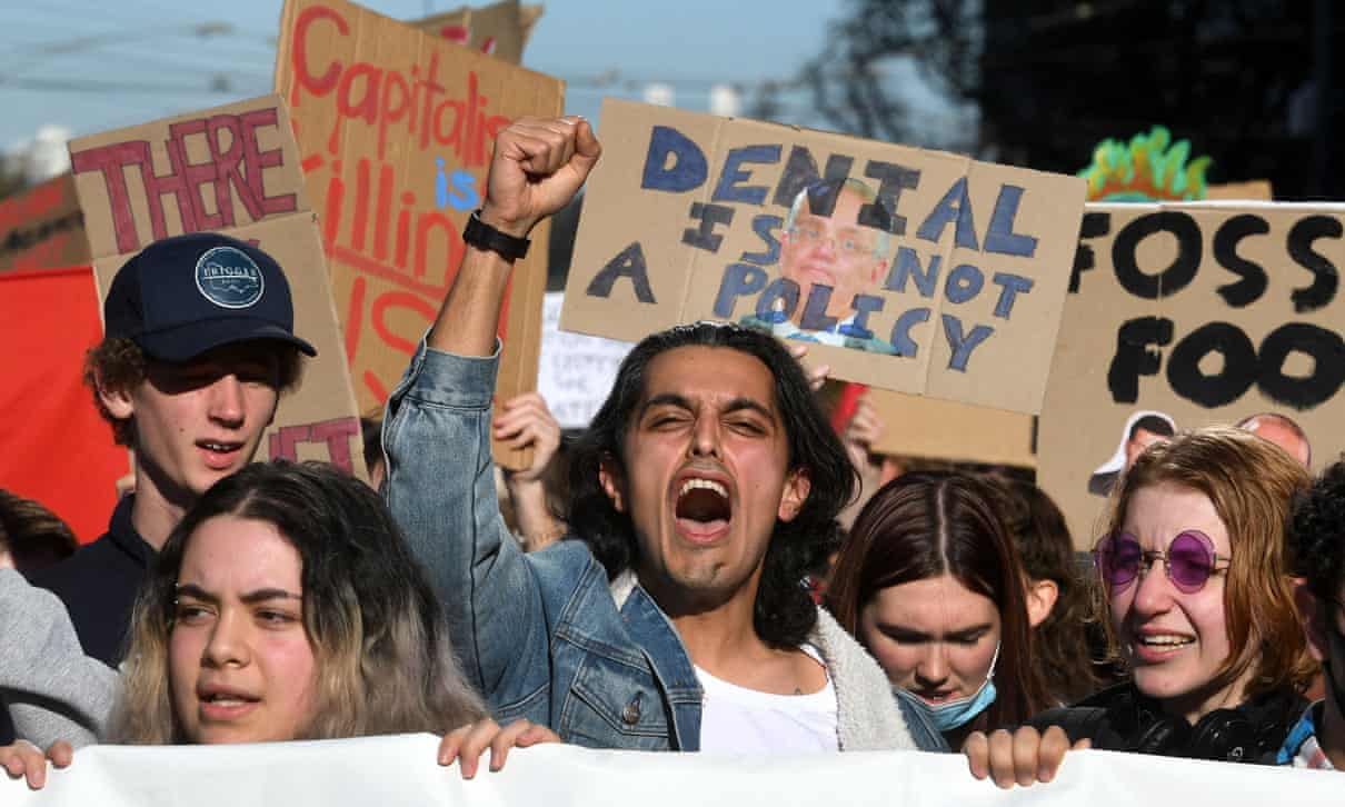 Australia,Sydney, School strike, climate, Harbouchanews