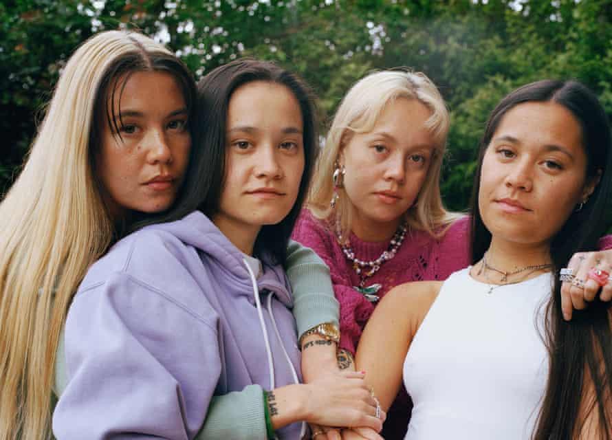 Maya, Victoria, Josie and Alexandra Man, St Mary Cray.