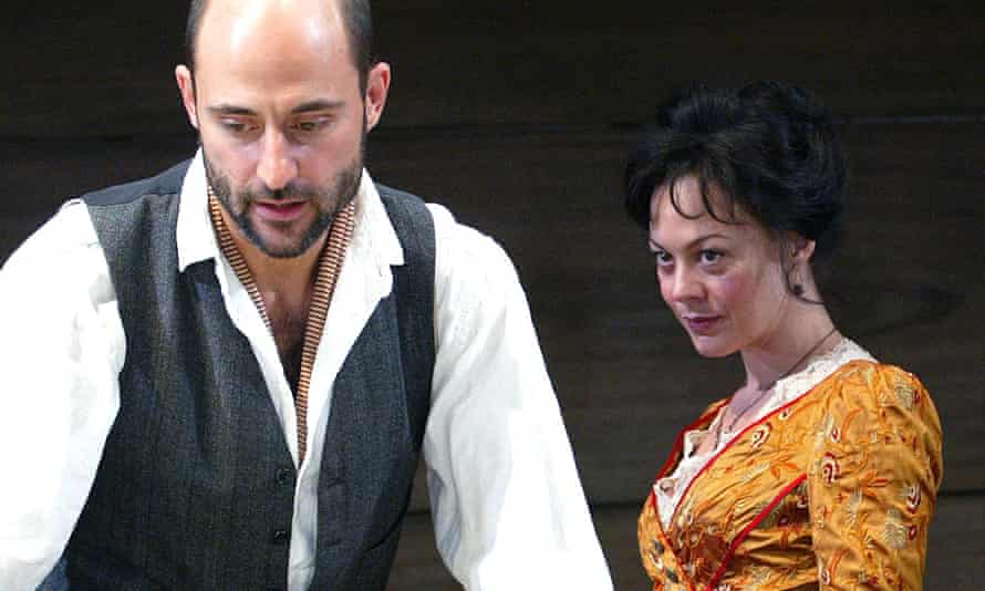 Magnetism … Mark Strong and Helen McCrory.