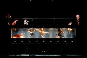 Dancing in an underwater tank … Dido and Aeneas, Purcell's opera, reworked by Sasha Waltz in 2007.
