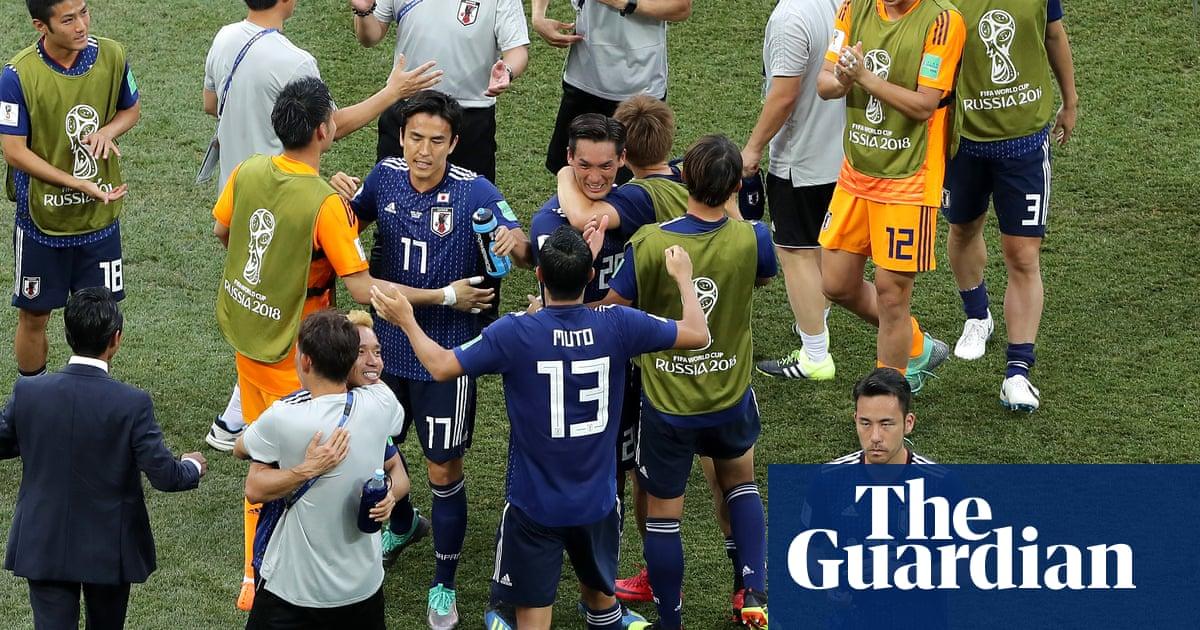 6ad1339aa Japan sneak through to World Cup last 16 despite Poland defeat ...