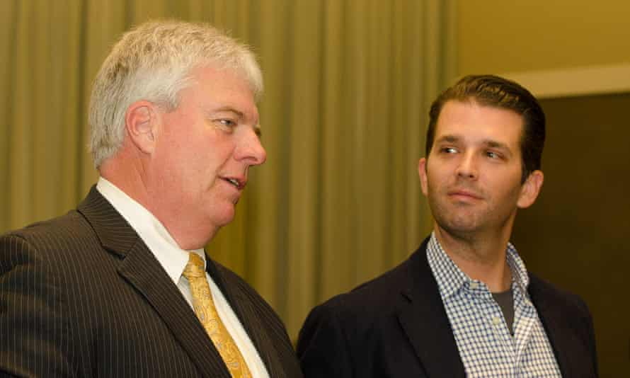 Don Peay with Donald Trump Jr.