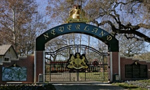 The entrance to Michael Jackson's Neverland Ranch in Santa Ynez, California, which is going up for sale.
