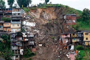 Manizales, Colombia A view of housing