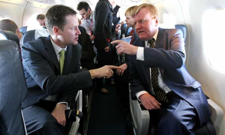 Nick Clegg and former Leader Charles Kennedy.