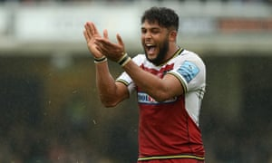 Ludlam was called up by England after a series of strong performances for Northampton