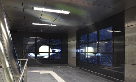 Thomas Stricker's space ship station.