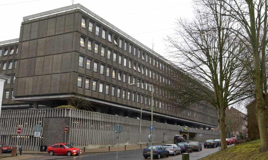 Hampshire county council's headquarters in Winchester.