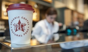 Pret coffee cup