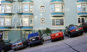 Typical San Francisco road