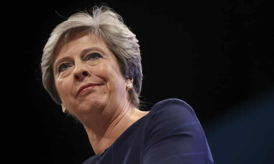Theresa May gives her 2017 Conservative party conference speech