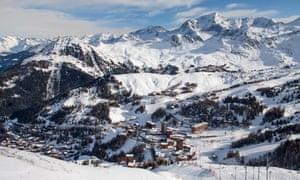 The ski resort of La Plagne