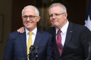Friends until the end: Malcolm Turnbull and Scott Morrison