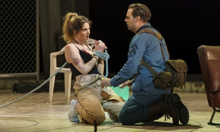Impressive presence … Virginie Verrez and Dimitri Pittas in Welsh National Opera's Carmen.