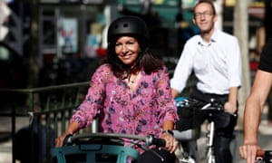 Anne Hidalgo, the mayor of Paris, launched the city's participatory budget scheme in 2014.