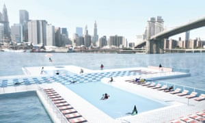 Rendering of the proposed pool.