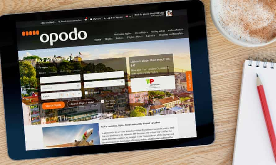 Booking on the Opodo website is simple … cancelling rebooking or getting a refund is very different.