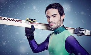 Mark-Francis Vandelli was taken to hospital after injuring himself in a challenge on The Jump.