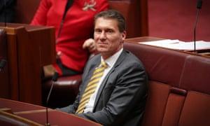 Australian Conservatives leader Cory Bernardi