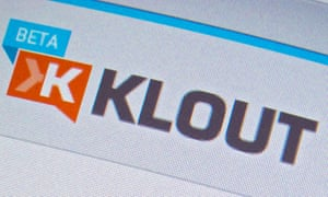 Klout users were given a score between 1 and 100 to reflect their influence on social media