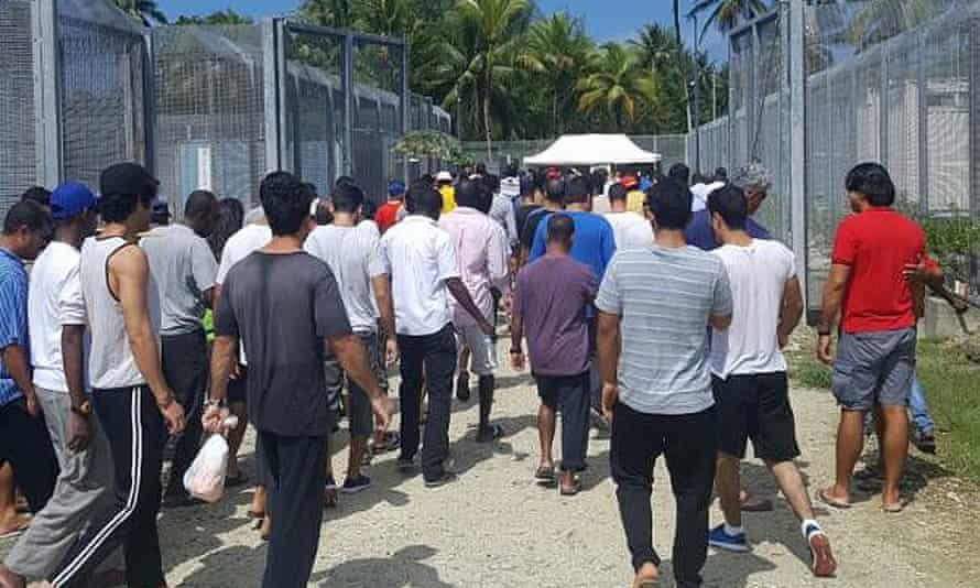 Asylum seekers and refugees on Manus Island