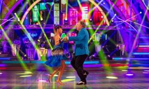 Ed Balls and Katya Jones on Strictly.