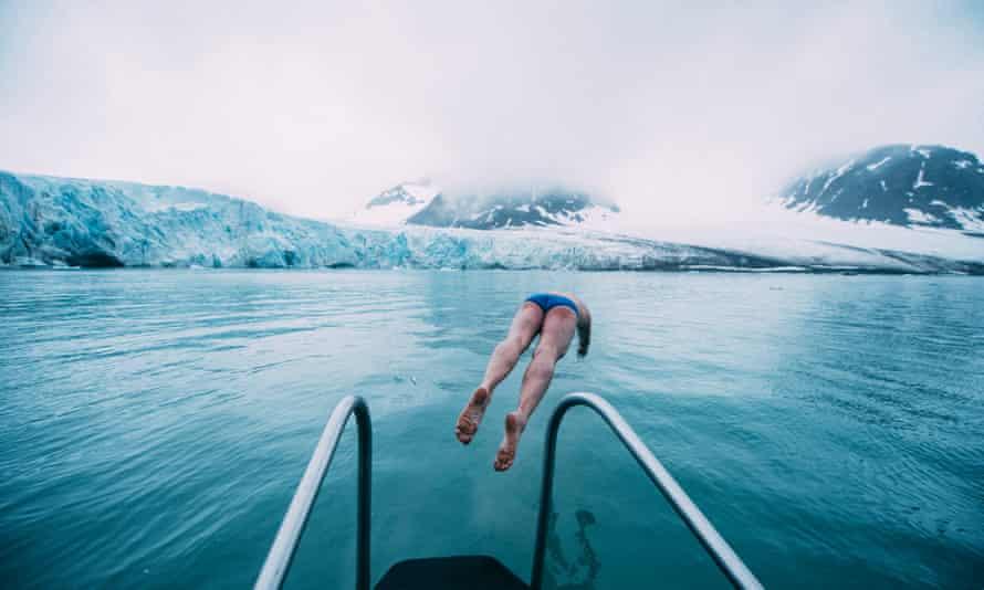 'Speedo diplomacy': Arctic swimmer Lewis Pugh.