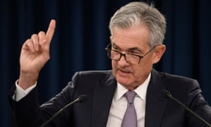A picture of Federal Reserve chair Jerome Powell.