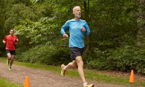 Paul Sinton-Hewitt in parkrun action