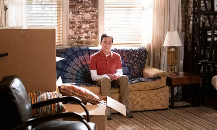 Home alone ... Keir Gilchrist as Sam Gardner in the first episode of Atypical, season four.
