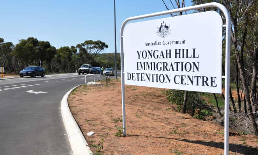 Yonghah Hill Immigration Detention Centre sign