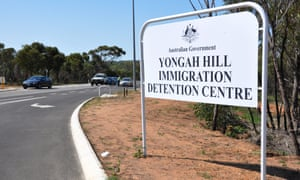 The Human Rights Commission report called for a review of staff's response to an incident at the Yongah Hill detention centre last year, where several buildings were burned down after a young detainee, who later died in hospital, attempted to take his own life at the centre