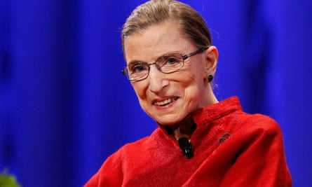 Ruth Bader Ginsburg at the Women's Conference in Long Beach, California, on 26 October 2010.