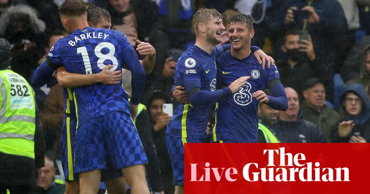 Chelsea 3-1 Southampton, Leeds 1-0 Watford and more: clockwatch – live!