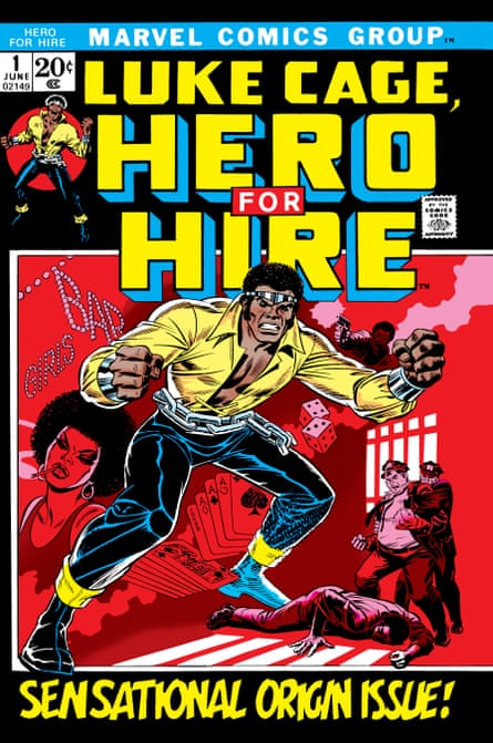 The original Luke Cage from 1972 … complete with steel tiara.