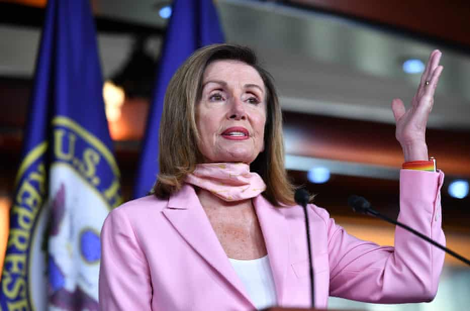 Nancy Pelosi: 'The president's threat to America is urgent, and so too will be our action.'