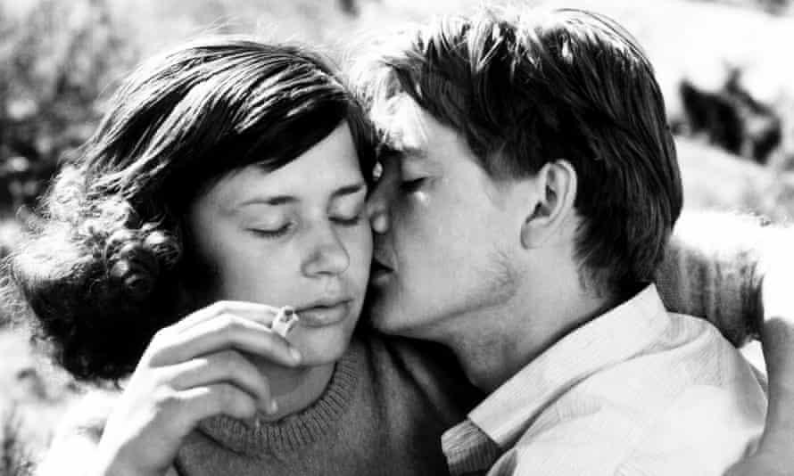 Harriet Andersson, Lars Ekborg in Bergman's Summer with Monika.