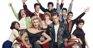 They'd better shape up: the cast of Grease Live.