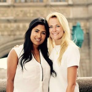 Farah Kabir and Sarah Walsh of Hanx