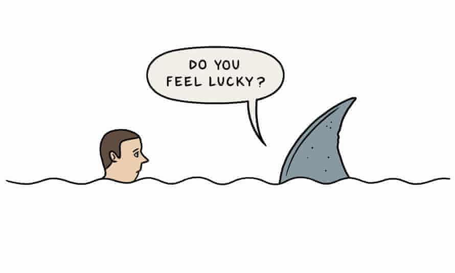 Do You Feel Lucky. Illustration for Digested Read