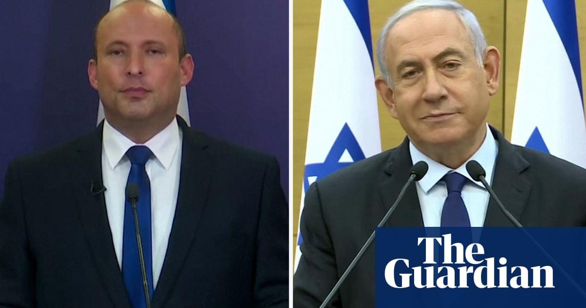 Bennett and Netanyahu address public as opposition figures reach deal – video