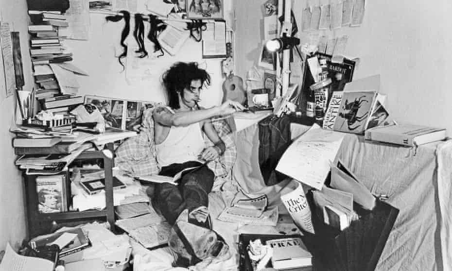 Nick Cave in Yorkstraße, West Berlin, in August 1985.