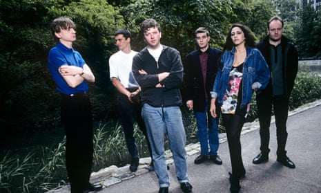 The Fall in Central Park in New York, May 18, 1990, with Mark E Smith, left.