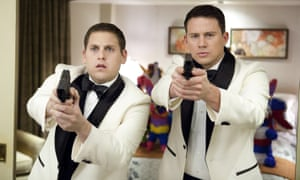 'We're reviving a cancelled undercover police programme from the 80s' ... Jonah Hill and Channing Tatum in 21 Jump Street.