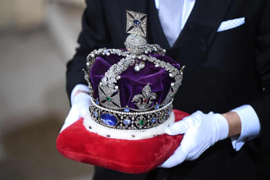 The Imperial State Crown.