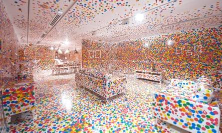 Obliteration Room by Yayoi Kusama