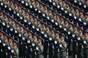 September's grand military parade